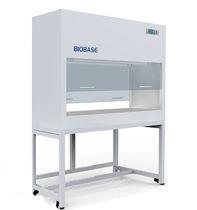 Laboratory fume hood / decontamination / floor-standing / vertical laminar flow