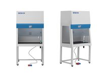 Laboratory fume hood / chemical / floor-standing / with sliding front sash