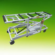 Mortuary trolley / loading / coffin / electric