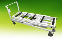 Mortuary trolley / loading / for caskets / electric