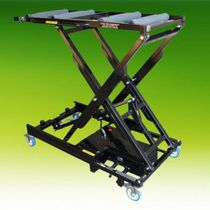 Mortuary trolley / loading / coffin / electro-hydraulic