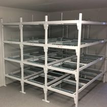 Modular shelving unit / mortuary / open-structure