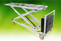 Mortuary trolley / loading / for caskets / bariatric