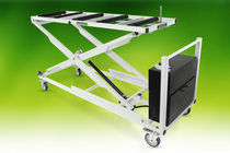 Storage trolley / mortuary / loading / for caskets