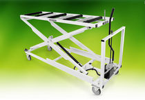 Storage trolley / loading / mortuary / for caskets