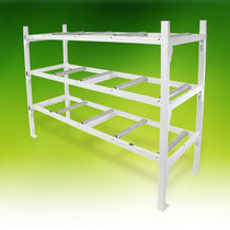 3-shelf shelving unit / mortuary