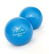 Small Pilates ball / human