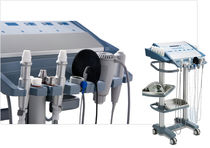 Micro-dermabrasion skin care unit / non-invasive mesotherapy / trolley-mounted
