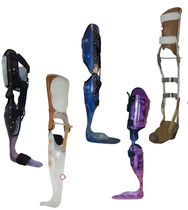 Knee, ankle and foot orthosis / articulated
