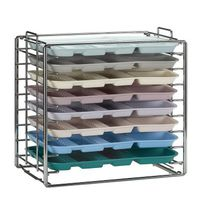 Dental instrument tray rack / bench-top