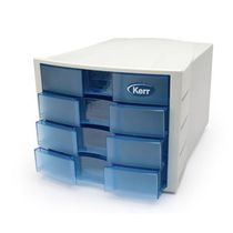 Storage cabinet / for dental laboratories / 4-drawer