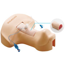 Emergency care training manikin / tracheostomy / torso