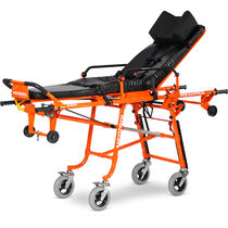 Transport stretcher trolley / emergency / folding / self-loading