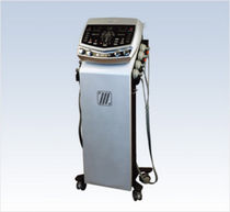 Vacuum therapy unit / trolley-mounted