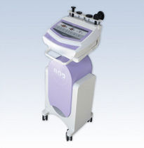RF body contouring skin care unit / trolley-mounted