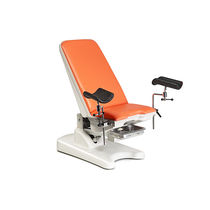 Gynecological examination chair / manual / 2 sections