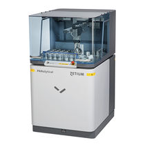X-ray fluorescence spectrometer / for the pharmaceutical industry
