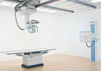 Radiography system / digital / for multipurpose radiography / with Bucky stand