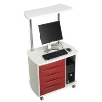 Modular computer cart