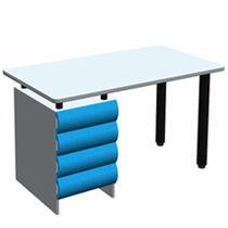 Rectangular desk / 4-drawer