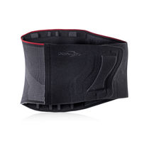 Lumbar support belt / adult / semi-rigid