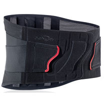 Lumbo-sacral support belt / adult / semi-rigid
