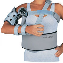 Shoulder splint / shoulder abduction / articulated