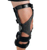 Knee orthosis / patella stabilization / knee ligament stabilization / articulated