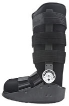 Long walker boot / articulated