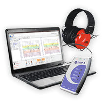 Clinical diagnostic audiometer / computer-based / portable