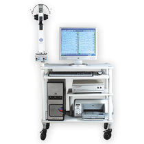Clinical diagnostic audiometer / computer-based / trolley-mounted