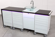 Dental instrument cabinet / storage / for dental clinics / with drawer