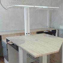 Dental laboratory lamp / LED / table