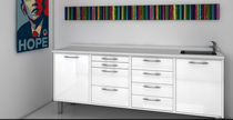 Dental clinic cabinet / storage / for dental instruments / with drawer