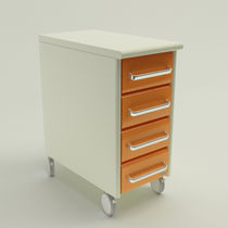Transport trolley / with drawer