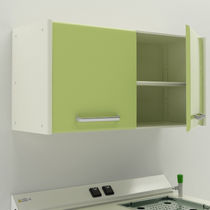 Storage cabinet / hospital / wall-mounted