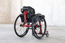 Active wheelchair / outdoor / indoor / with legrest