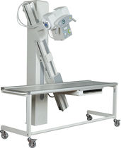 Radiography system / analog / for multipurpose radiography / with swiveling tube stand