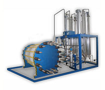 Hydrogen gas plant / oxygen / floor-standing / ultra-high purity