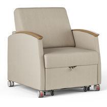 Healthcare facility armchair / bed / bariatric / convertible