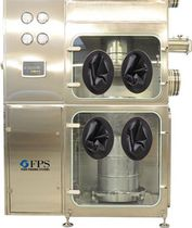 Pack-off system for the pharmaceutical industry