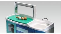 baby changing table (with 1 bathtub) PRAXIS Favero Health Projects