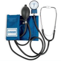 cuff-mounted aneroid sphygmomanometer with stethoscope 0 - 300 mmHg - BD2600 Bremed