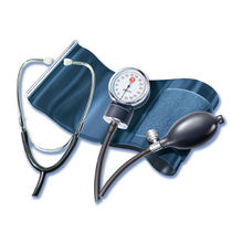 cuff-mounted aneroid sphygmomanometer with stethoscope Classic StethoMed Pic Solution