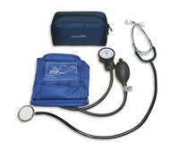 cuff-mounted aneroid sphygmomanometer with stethoscope AG1-20 Microlife