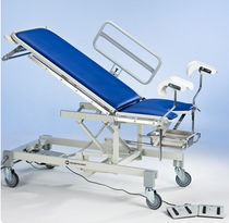 height-adjustable gynecological examination table (hydraulic, on casters, 2 sections) 4242 Merivaara