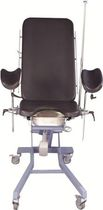 height-adjustable urological and gynecological examination table (electric, 3 sections) UROTABLE Aymed