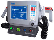 manual external defibrillator with ECG monitor 2-200 J | SANJEEVANI Nasan Medical Electronics