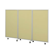 medical bed side screen (3 folds, on casters) KC-030 SERIES  PARAMOUNT BED CO., LTD. JAPAN