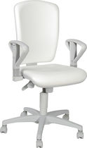 office chair for healthcare facilities (with casters, with armrests) MEDI 2269 Linet